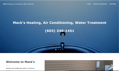 Mack's Heating, Air Conditioning, Water Treatment